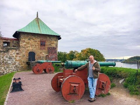 Trip to Akershus Festning, Opera house, the Royal Palace & Frammuseum 18-09-2017 Vlog 255 Day 19