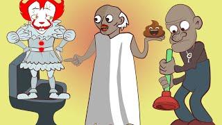 Пенни vs Гренни : сюрприз из канализации