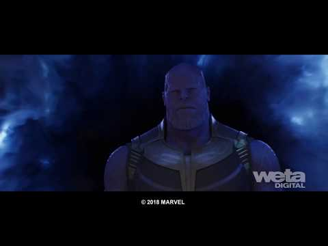 Avengers: Infinity War VFX   Breakdown - FX Simulations   Weta Digital