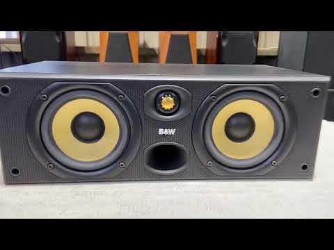 【夢響音響工作室】英國製造B&W CC6 兩音路三單體 中置喇叭 一元起標!!