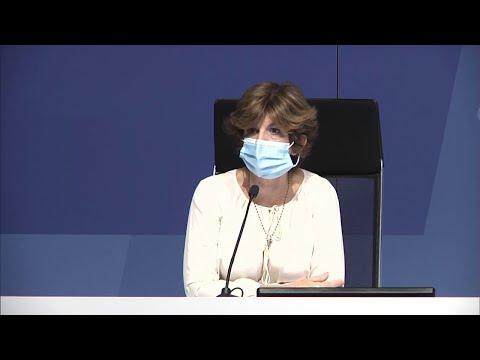 La Consejera de Salud, Nekane Murga, actualiza la situación COVID-19 en Euskadi (06-08-2020)