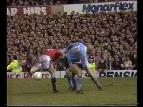 Manchester United v Middlesbrough, 1992 League Cup Semi-Final 2nd leg on Granada Soccer Night