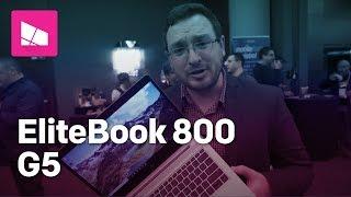 HP EliteBook 800 series G5 hands on