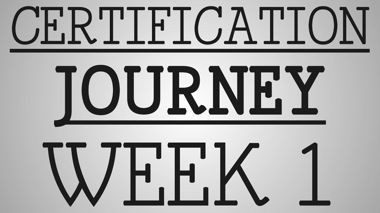 Ccrn Certification Journey Week One Youtube