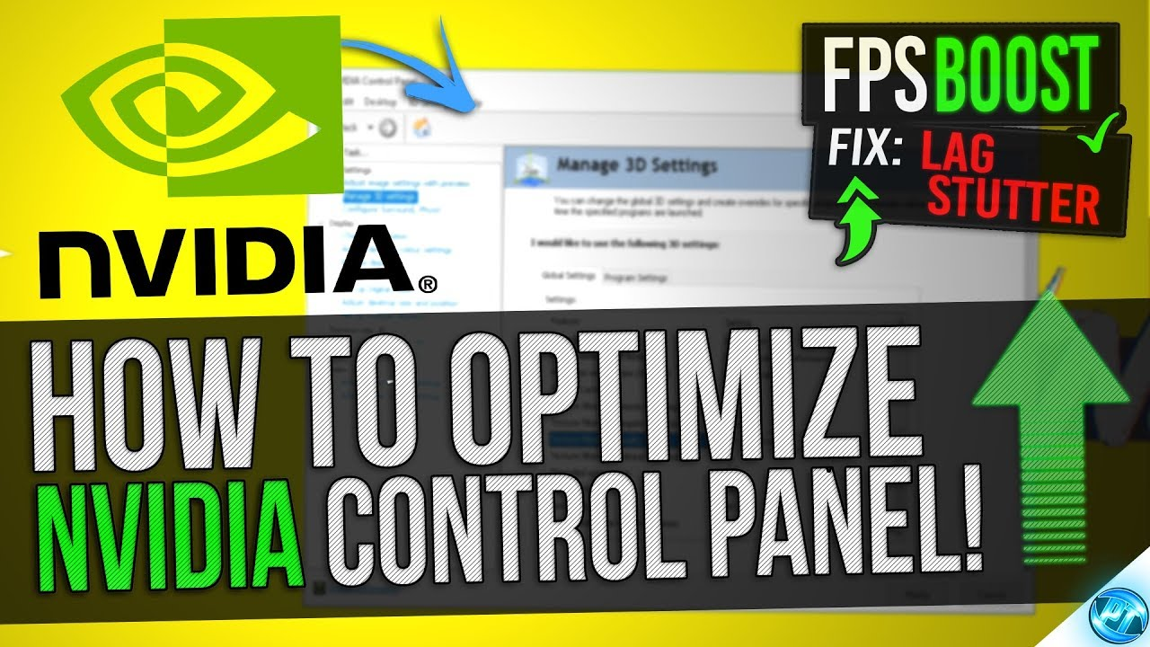 nvidia control panel how to get to program settings