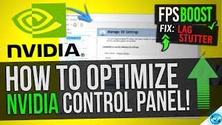 🔧 How to Optimize Nvidia Control Panel For GAMING & Performance The Ultimate GUIDE