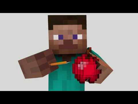 PPAP - Pen Pineapple Apple Pen (Minecraft Animation)