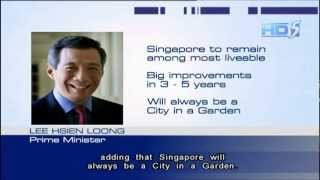 PM Lee confident Singapore will be one of the most liveable cities in the world - 31Jan2013
