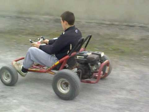 200cc drift kart sligo style youtube. Black Bedroom Furniture Sets. Home Design Ideas