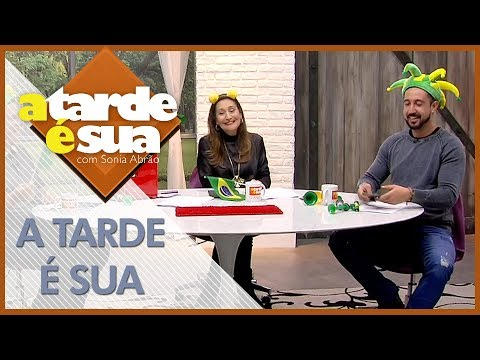 A Tarde é Sua (14/06/18) | Completo
