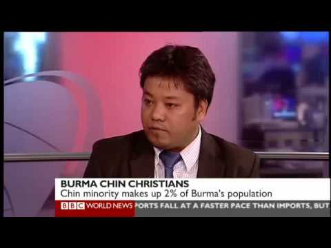 Chin Human Rights Organisation (CHRO) on BBC World News on Religious Freedom in Burma (11 Sept 2012)