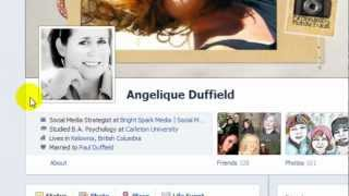 "Create a Link to Your Facebook Fan Page in your Personal Profile ""About"" section"