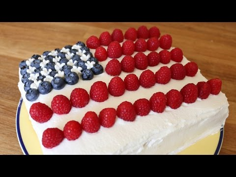 Fourth Of July American Flag Cake   Sweetco0kiepie