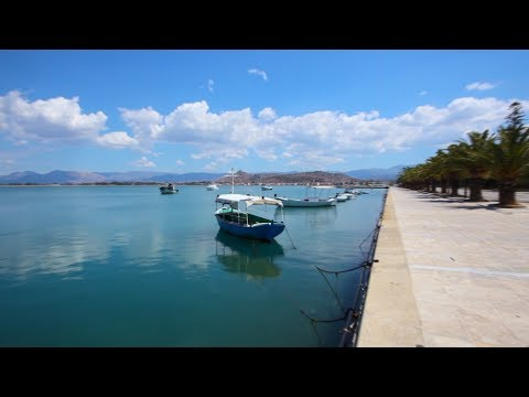 NAFPLIO city GREECE travel video - HD 1080P