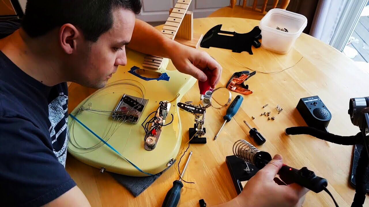 Installing a 4 way Telecaster Switch - with Sound Demo - YouTube on stratocaster wiring diagram, the strat wiring diagram, strat pickguard wiring diagram, gibson bass wiring diagram, guitar wiring diagram,