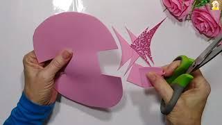 Впечатляющие Поделки на 8 МАРТА своими руками. Подарок Своими Руками.цветы из бумаги. идеи. DIY...