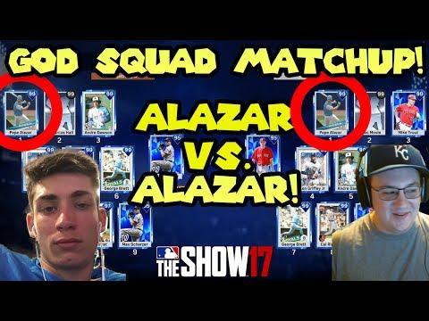 Alazar vs. Alazar God Squad Matchup! [Collab With Bengal!] MLB The Show 17 Diamond Dynasty