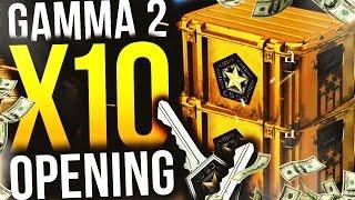 W KOŃCU Z KAMERKĄ! - CS:GO GAMMA 2 CASE OPENING! (Rozdaje skiny+Zaproszenie na S4F!)