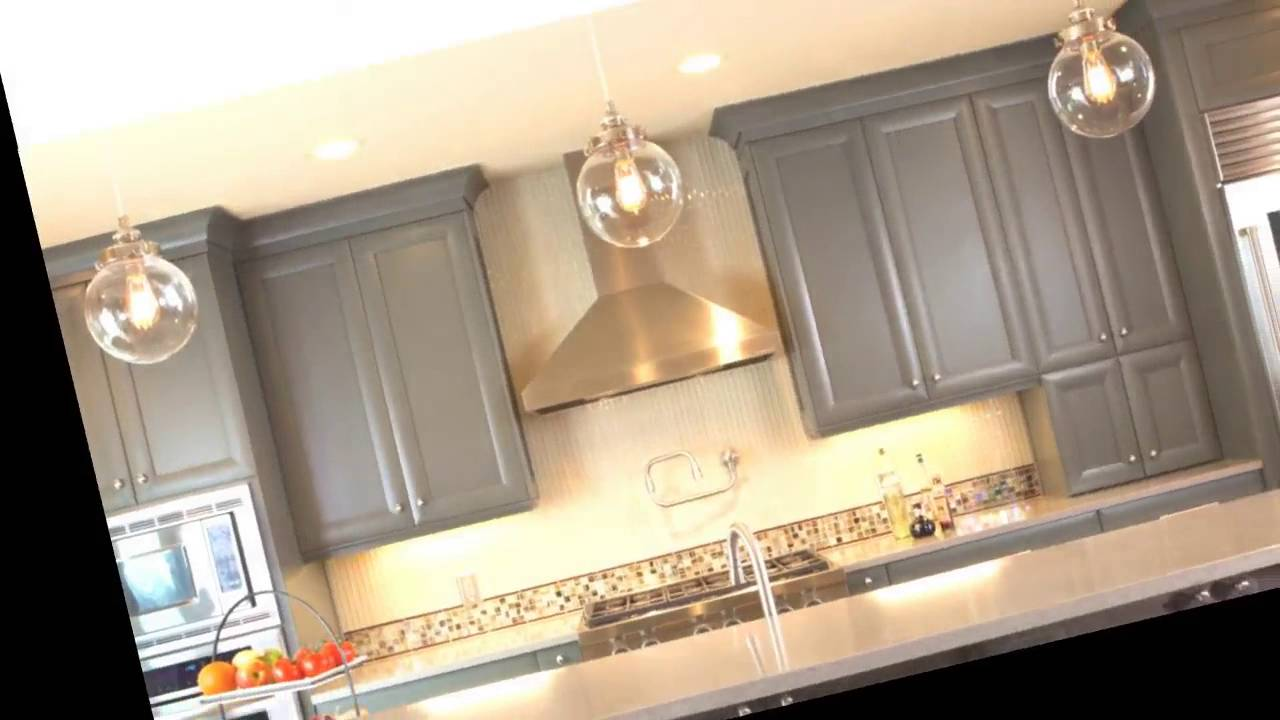 25 Best Gray Kitchen Cabinets Color Ideas Youtube