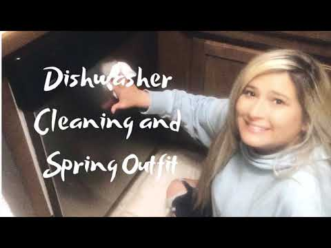 Dishwasher Cleaning and Spring Outfit #4