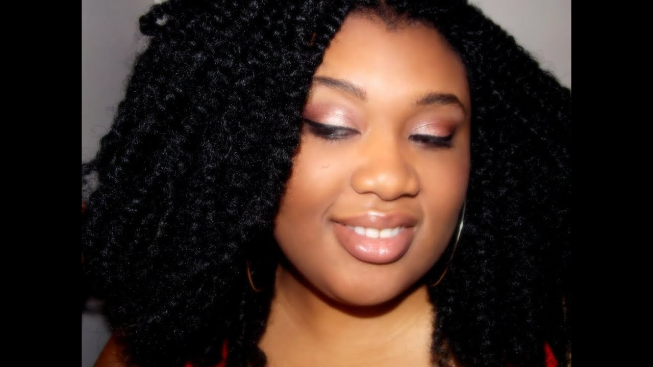 How I Do My Afro Puffy Twist Requested Youtube