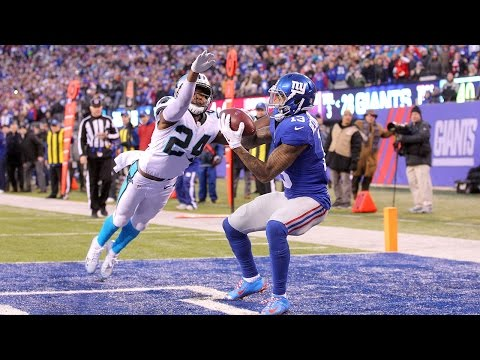 Odell Beckham vs. Josh Norman On The Field! | Inside The NFL | Panthers vs. Giants highlights