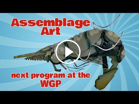 Withlacoochee Gulf preserve Assemblage Art Workshop Thursday, March 24, 10:00am