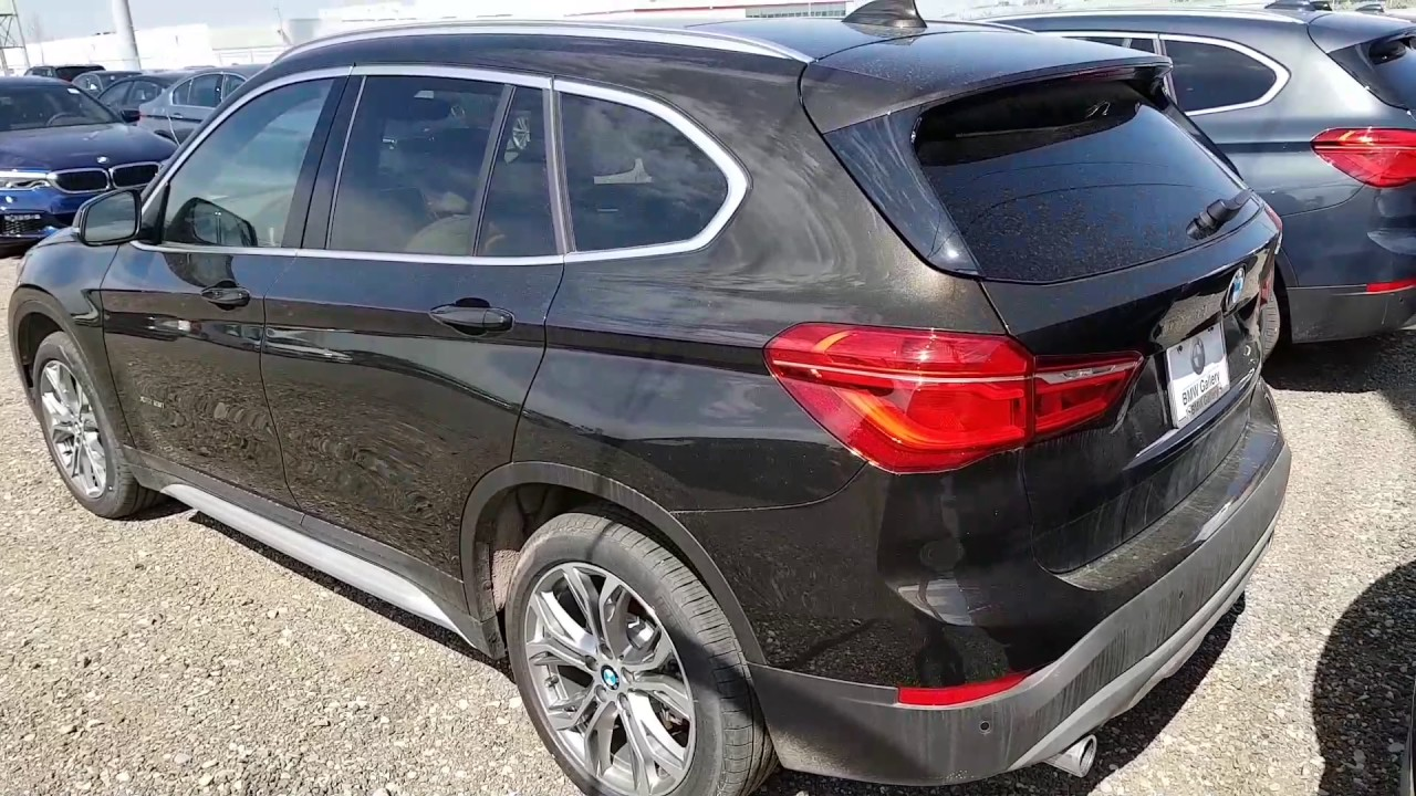 2017 Bmw X1 Sparkling Storm Metallic Youtube