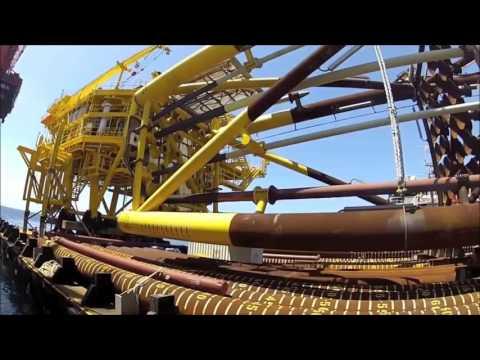 Plataforma offshore.