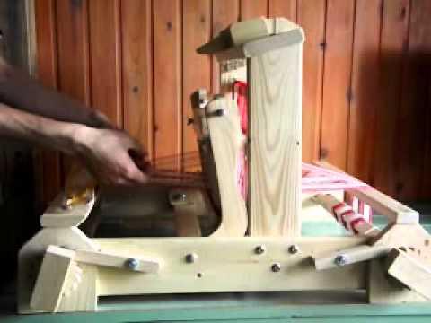 настольный ткацкий станок оптима компакт 4 х ремизный основным