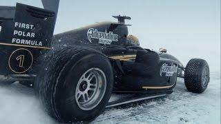 Как был установлен рекорд скорости формулы на льду + гонки на 370 км/ч!