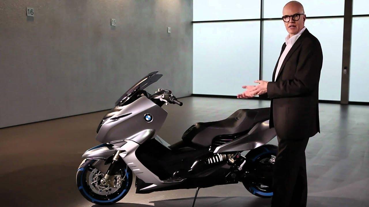 2010-11] Scooter BMW Concept C / Presentation officielle HD - S2M ...