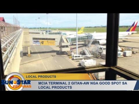 MCIA Terminal 2 gitan-aw nga good spot sa local products