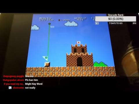 How to rage at Super Mario Bros.