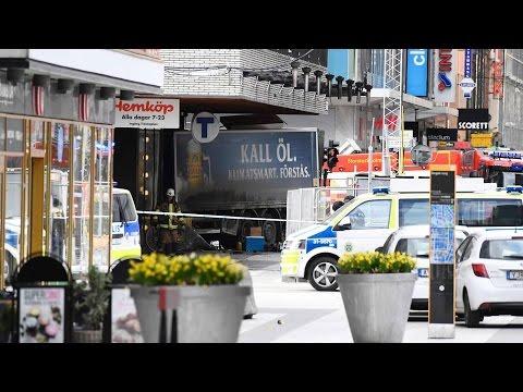 Stockholm Truck Attack Leaves Several Dead