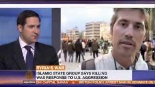 The Murder of James Foley by ISIS Al Jazeera 20 August 2014
