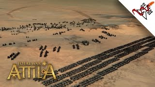 Total War: Attila - 4200 Cavalry vs 2300 War Elephants | MASSIVE Battle