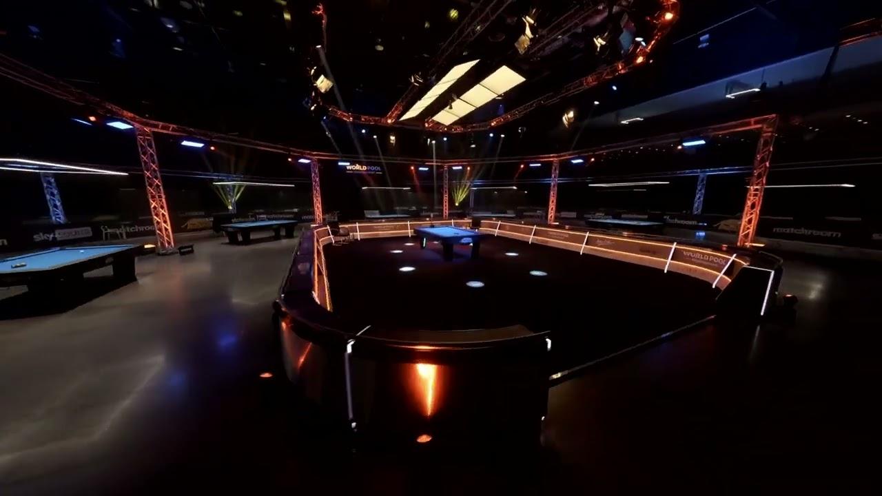 Drone Cam | 2021 World Pool Championship