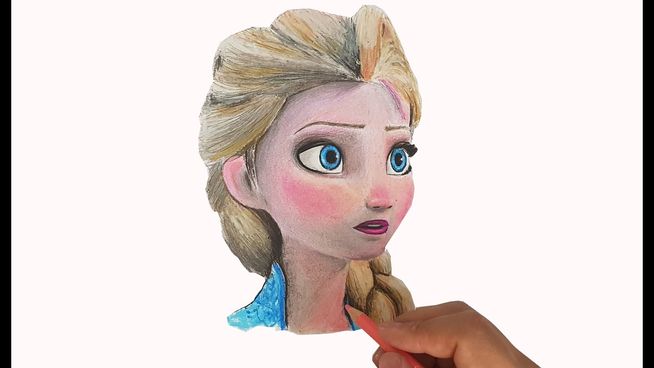 Drawing Frozen2 Elsa Elsa Cizimi 203 Youtube
