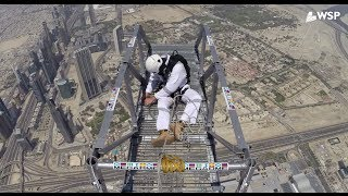 The Engineers Behind the Burj Khalifa BASE Jump