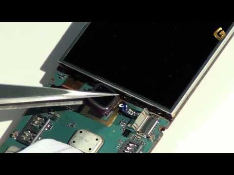BlackBerry Bold 9100 - как разобрать телефон и из чего он состоит