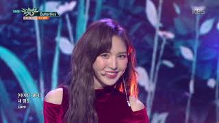 뮤직뱅크 Music Bank - Butterflies - 레드벨벳(Red Velvet).20181130