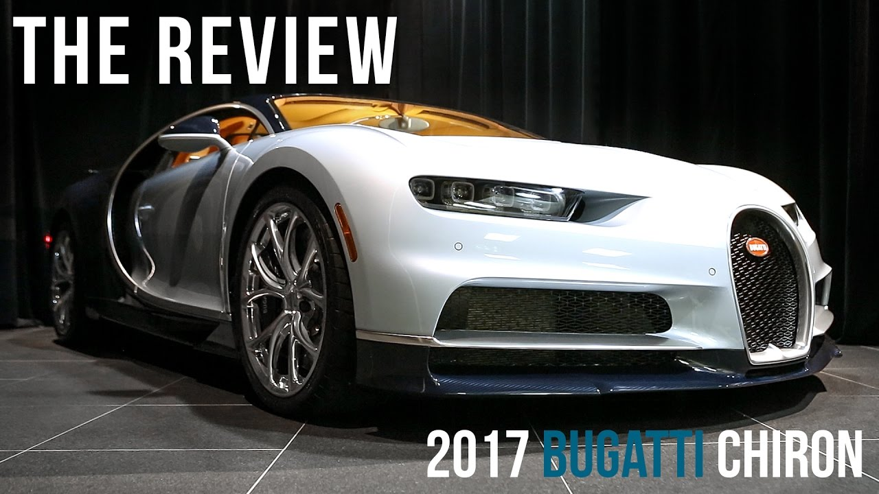 An Overview Of The 2017 Bugatti Chiron In Liquid Silver With Exposed Blue Carbon Youtube
