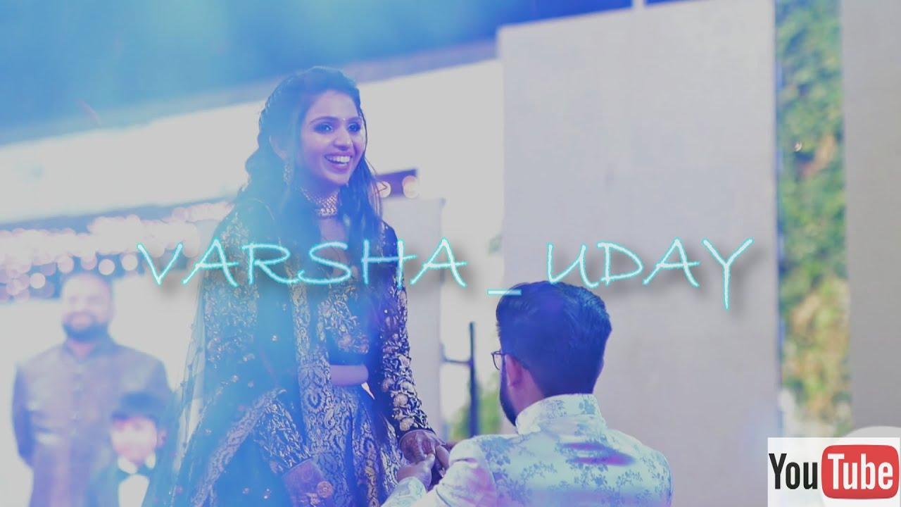 Varsha - Uday Highlights | Sangeet Highlights | Team Wc