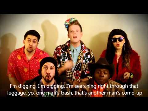 Pentatonix - Thrift Shop (HD LYRICS)