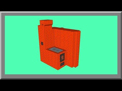 Отопительно варочные печи: устройство летнего дымохода (видеоурок). Кладка печи своими руками