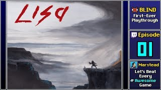 LISA The Painful RPG Episode 1 Blind - Start Playthrough