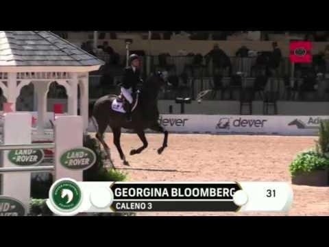 Georgina Bloomberg/Caleno 3 WEF Ruby et Violette GP 2016