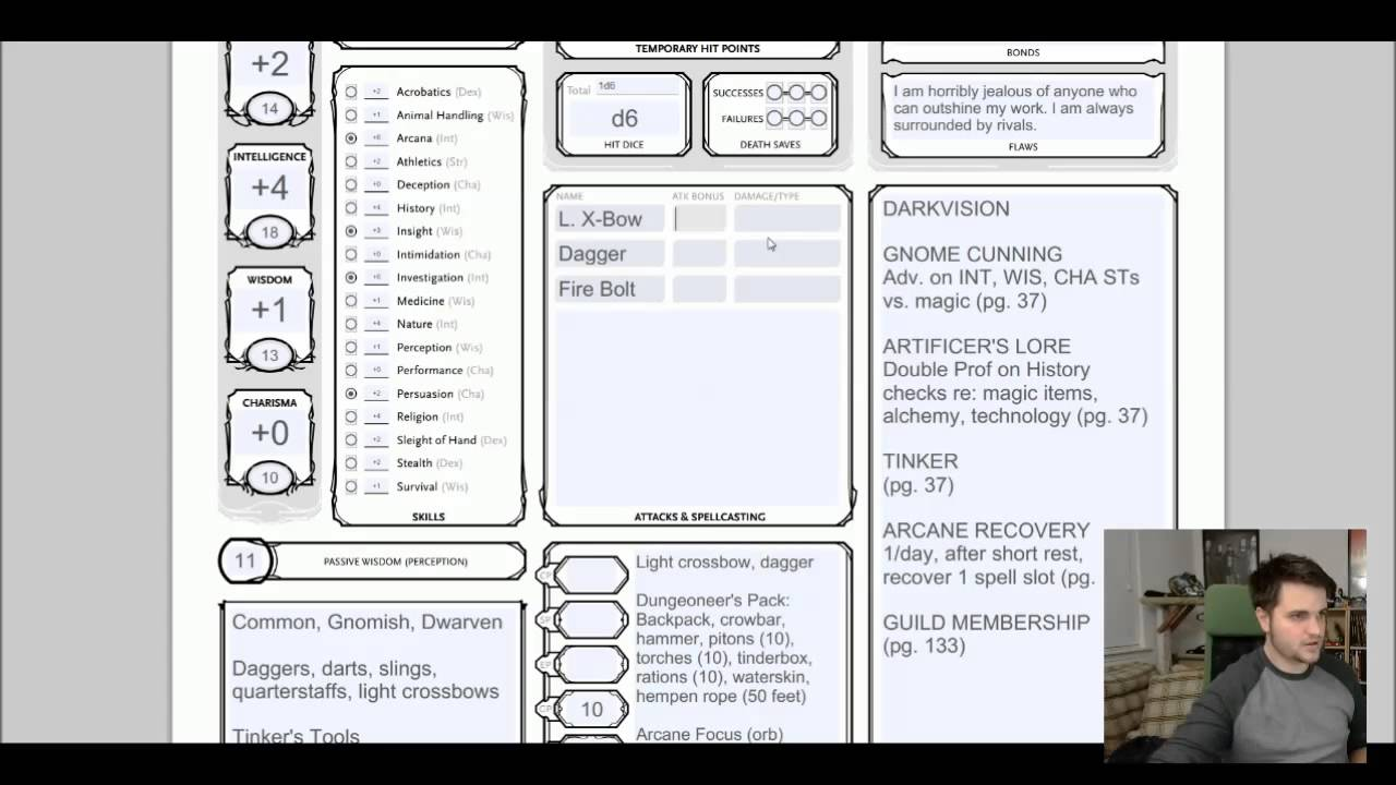 youtube how to get stats dnd 5e