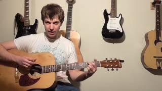 Cours guitare Country Bluegrass L'EXERCICE DU COW-BOY morceau Flat Pic